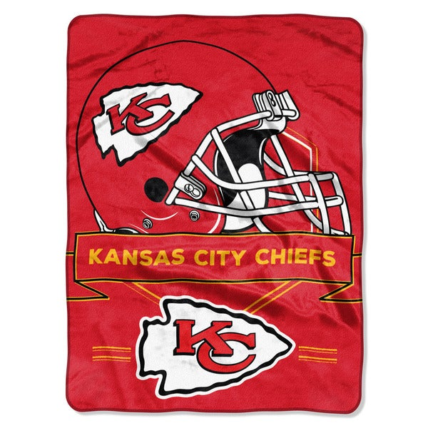 NFL 0807 Chiefs Prestige Raschel Throw