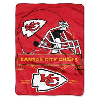 NFL 0807 Chiefs Prestige Raschel Throw