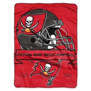 NFL 0807 Bucs Prestige Raschel Throw