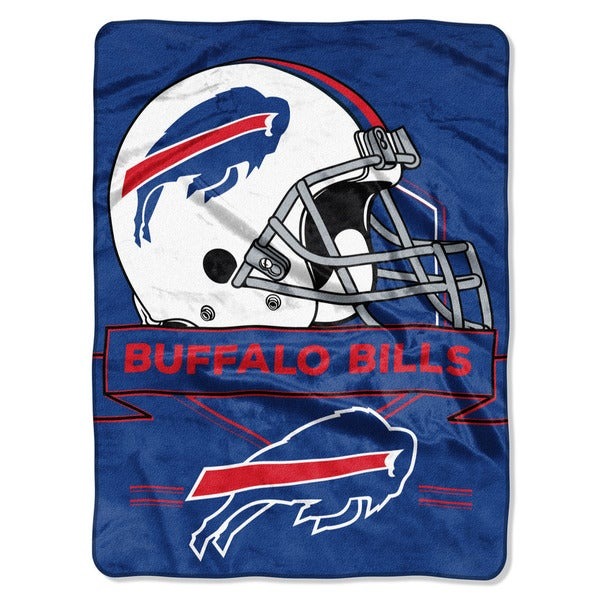 NFL 0807 Bills Prestige Raschel Throw