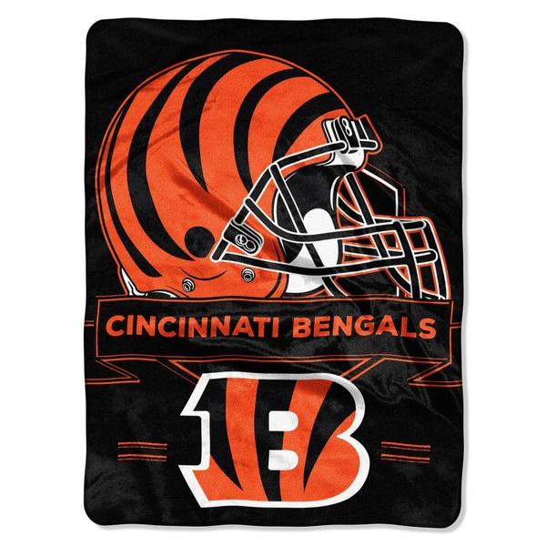 NFL 0807 Bengals Prestige Raschel Throw