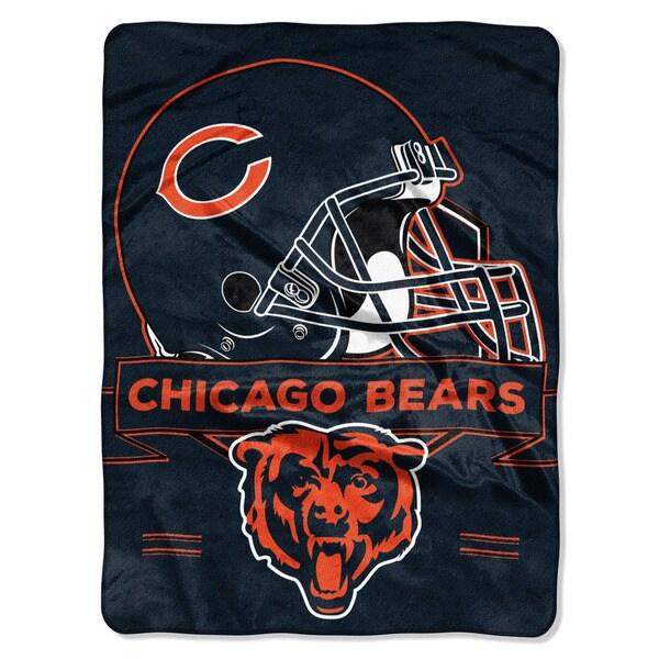 NFL 0807 Bears Prestige Raschel Throw