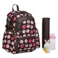 Colorland French Flower Large Backpack Diaper Bag