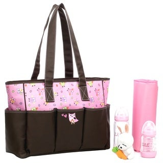 Colorland Owl Family Tote Baby Diaper Bag