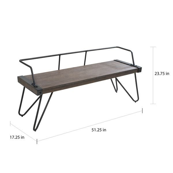 Cool Shop Carbon Loft Salk Industrial Dining Entryway Bench Caraccident5 Cool Chair Designs And Ideas Caraccident5Info