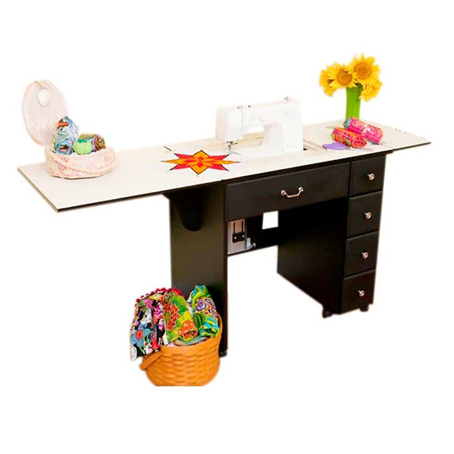 Arrow Group Cabinets Auntie 4-drawer Sewing Machine Table...