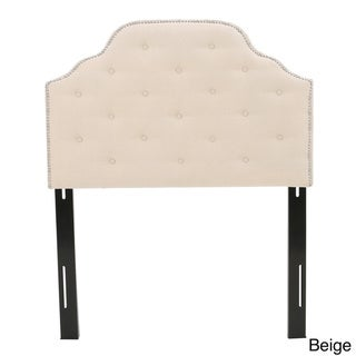 Silas Twin Studded Fabric Kid Headboard by Christopher Knight Home