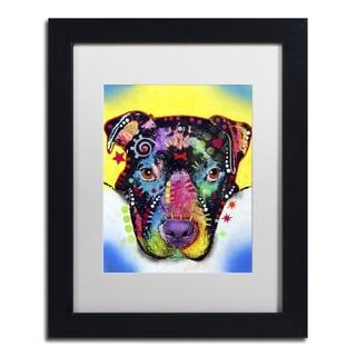 Dean Russo 'Otter Pitbull' Matted Framed Art