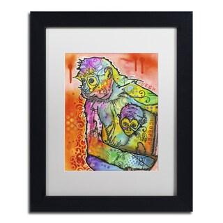 Dean Russo 'Monkey 1' Matted Framed Art