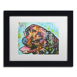 Dean Russo '20' Matted Framed Art