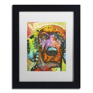 Dean Russo '02' Matted Framed Art