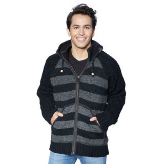 Laundromat Men's Kingston Black Wool Sweater