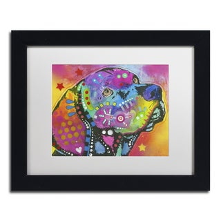 Dean Russo 'Psychedelic Lab' Matted Framed Art