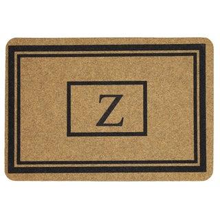 Mohawk Home Grand Terrace Natural Monogram Z (1'11 x 2'11)