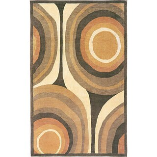 Abbyson Living Hand-knotted 'Boundless' Himalayan Sheep Wool Rug (4' x 6')