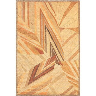 Abbyson Living Hand-knotted Utopia Himalayan Sheep Wool Rug (6' x 9')