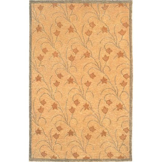 Abbyson Living Hand-knotted 'Himalayan Beauty' Ivory Wool Rug (6' x 9')
