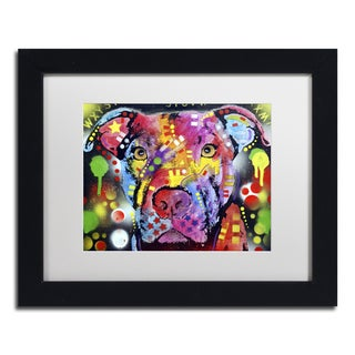 Dean Russo 'The Brooklyn Pit Bull' Matted Framed Art