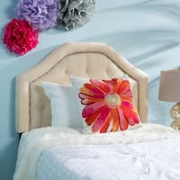 Daphne Contemporary Fabric Kid's Twin Headboard by Christopher Knight Home