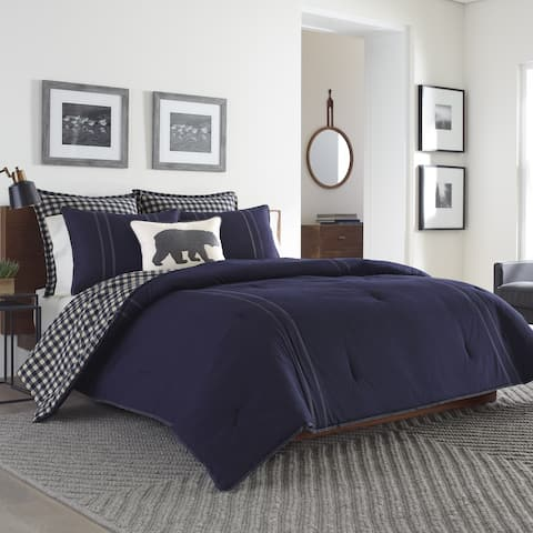 Eddie Bauer Kingston Reversible 3-piece Comforter Set