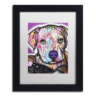 Dean Russo 'Baby Pit' Matted Framed Art