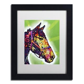 Dean Russo 'Horse II' Matted Framed Art