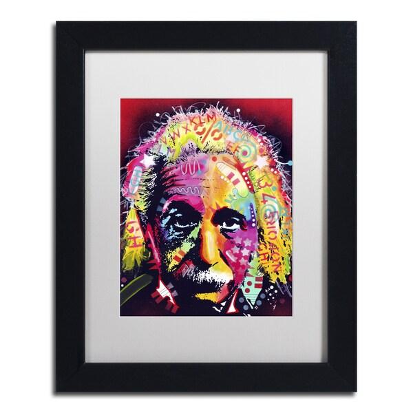 Dean Russo 'Einstein II' Matted Framed Art