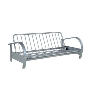 Coaster Company Nickel Metal Futon Frame