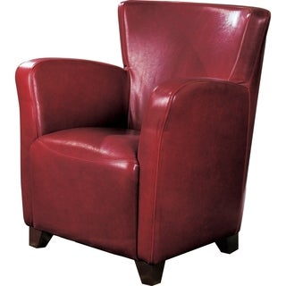 Coaster Company Vinyl High-back Accent Chair
