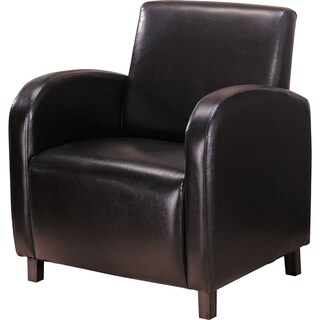 Vinyl High Back Arm Chair