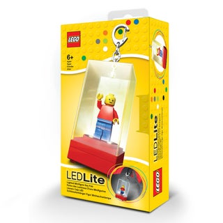 LEGO Red Lighted Minifigure Key Fob