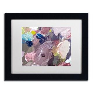 David Lloyd Glover 'Cloud Patterns' Matted Framed Art