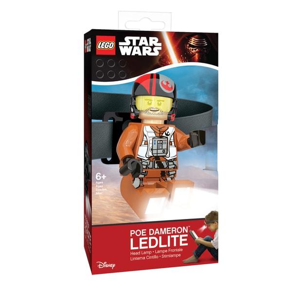 LEGO Star Wars Poe Dameron Head Lamp