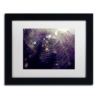 Beata Czyzowska Young 'Purple Lullaby' Matted Framed Art
