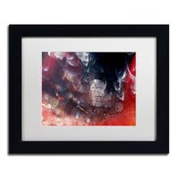 Beata Czyzowska Young 'Don't Be Afraid' Matted Framed Art