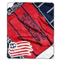 MLS 670 NE Revolution Scramble Raschel Throw