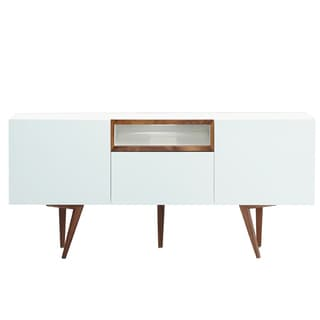 Belling Modern Living Branden White Wood Dining Room Sideboard