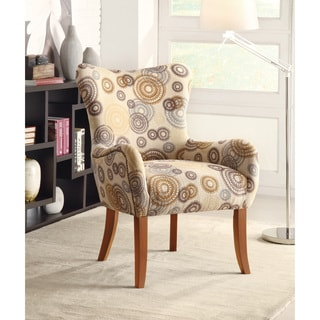 Kennedy Circle Pattern Accent Chair Free Shipping Today