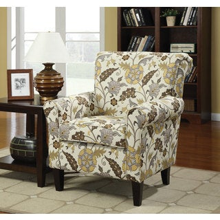 Coaster Company Floral Arm Chair