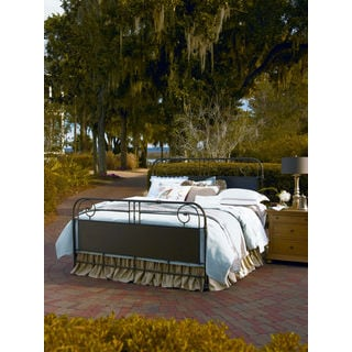 Paula Deen Down Home Oatmeal Finish Metal Garden Gate Bed