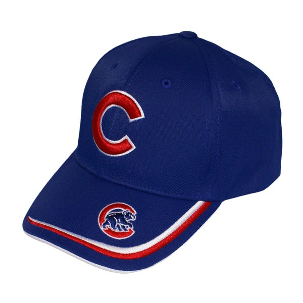 Fan Favorites Chicago Cubs MLB Forest Hook and Loop Hat