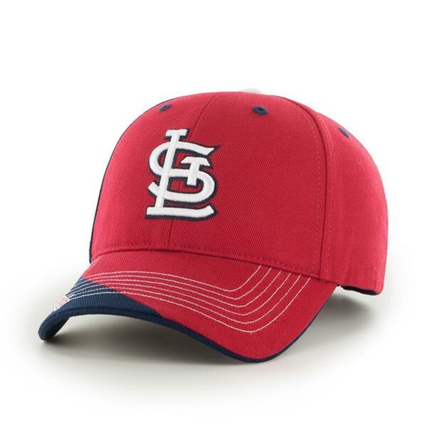 Fan Favorites St. Louis Cardinals MLB Hubris Hook and Loop Hat