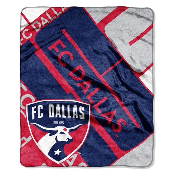 MLS 670 FC Dallas Scramble Raschel Throw
