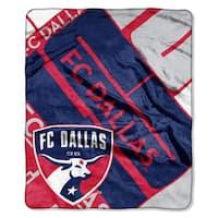MLS 670 FC Dallas Scramble Raschel Throw