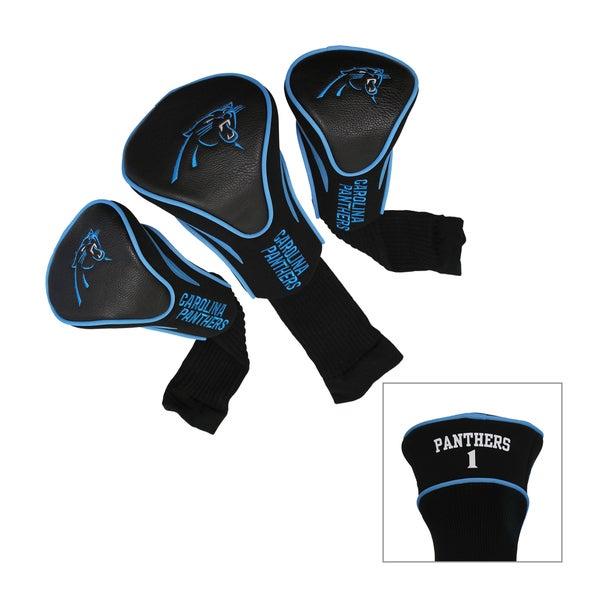 Carolina Panthers NFL Contour Wood Headcover Set