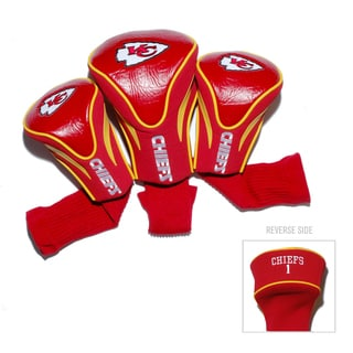 Kansas City Chiefs NFL Contour Wood Headcover Set