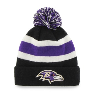 Fan Favorites Baltimore Ravens NFL Knit Beanie Hat