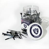 NFL Oakland Raiders Multi-colored 175 Tee Jar