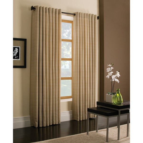 Miller Curtains Darien Gold 84 Inch Grommet Curtain Panel