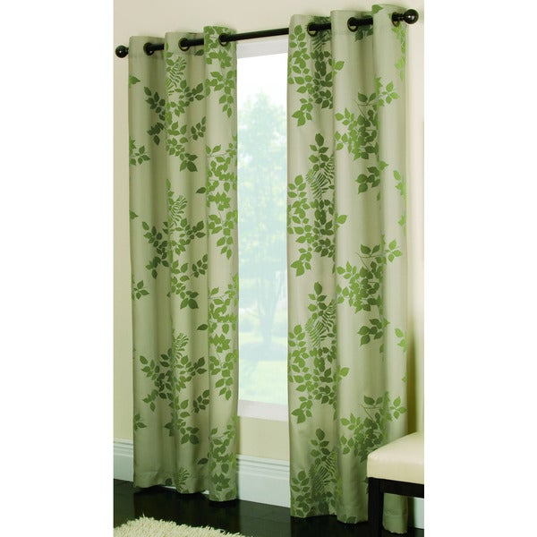 miller curtains simsbury green 84 inch grommet curtain panel free